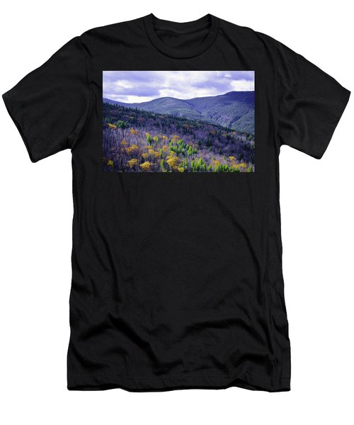 Fall In The White Mountains Men's T-Shirt (Athletic Fit)