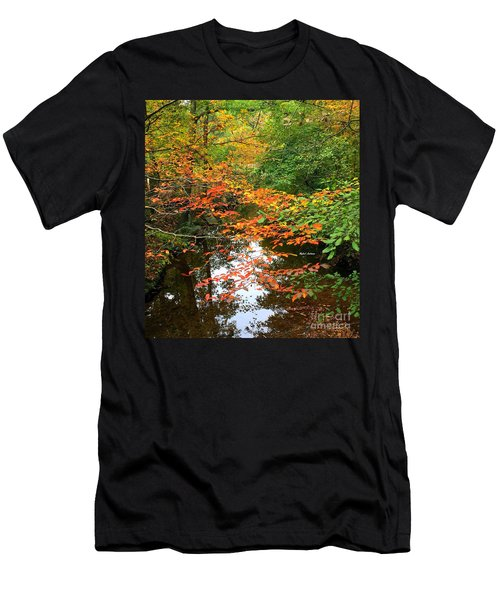 Fall Is In The Air Men's T-Shirt (Athletic Fit)