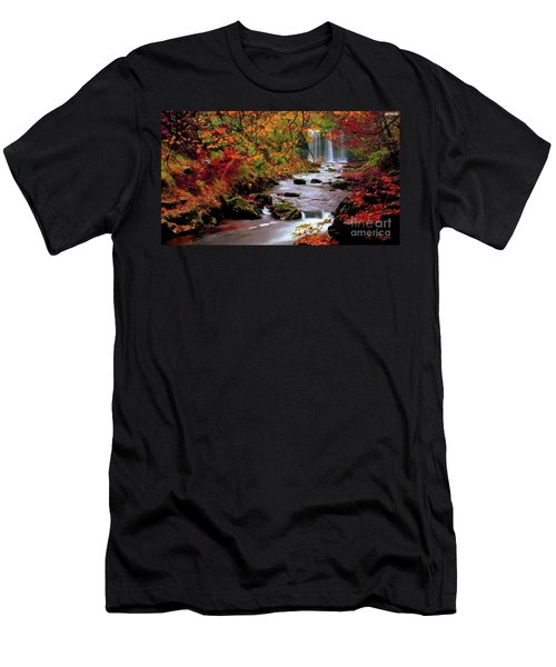 Fall It's Here Men's T-Shirt (Athletic Fit)