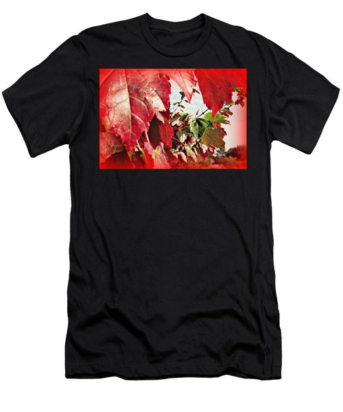 Fall Leaves #10 Men's T-Shirt (Athletic Fit)