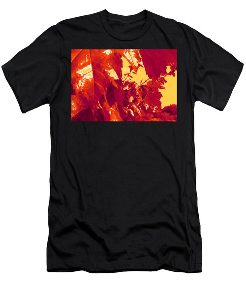 Fall Leaves #13 Men's T-Shirt (Athletic Fit)