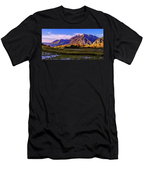 Fall Meadow Men's T-Shirt (Athletic Fit)