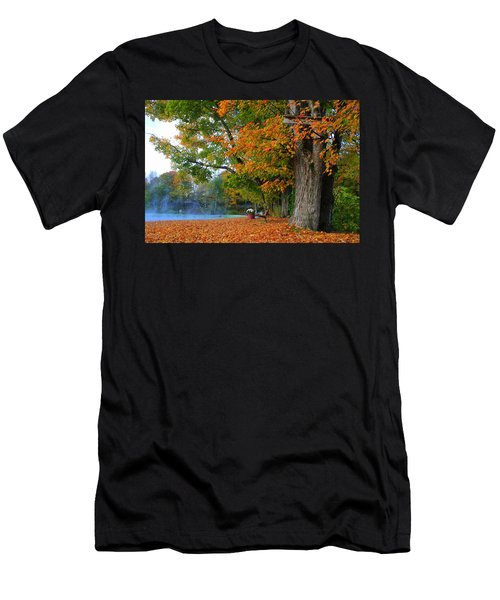 Fall Morning In Jackson Men's T-Shirt (Athletic Fit)
