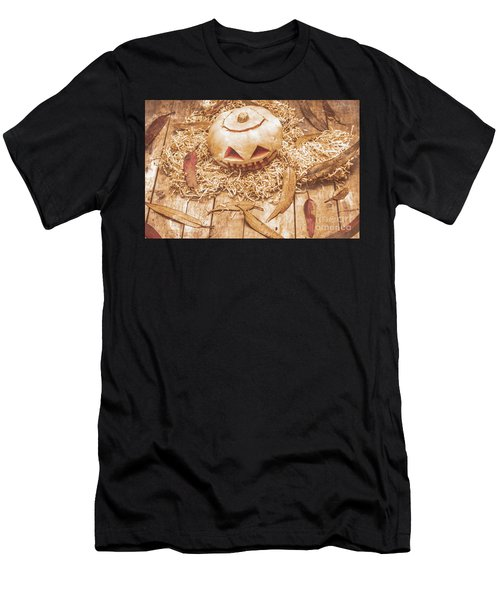 Fall Of Halloween Men's T-Shirt (Athletic Fit)