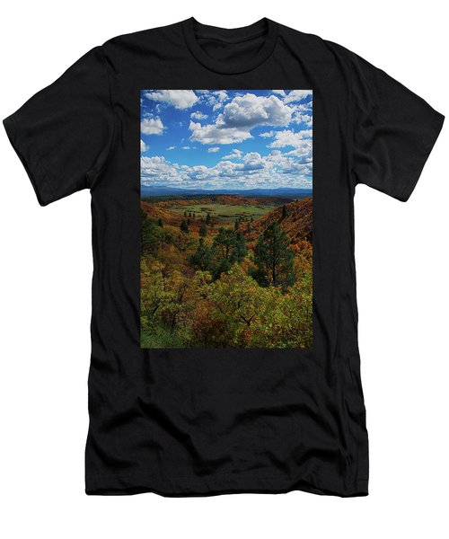 Fall On Four Mile Road Men's T-Shirt (Athletic Fit)