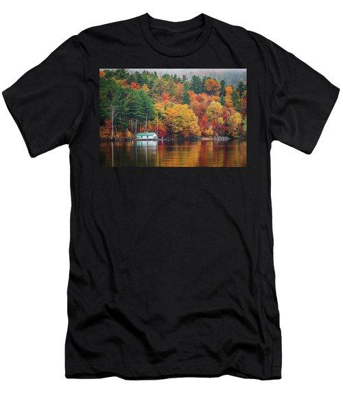 Fall On Lake Winnipesaukee Men's T-Shirt (Athletic Fit)