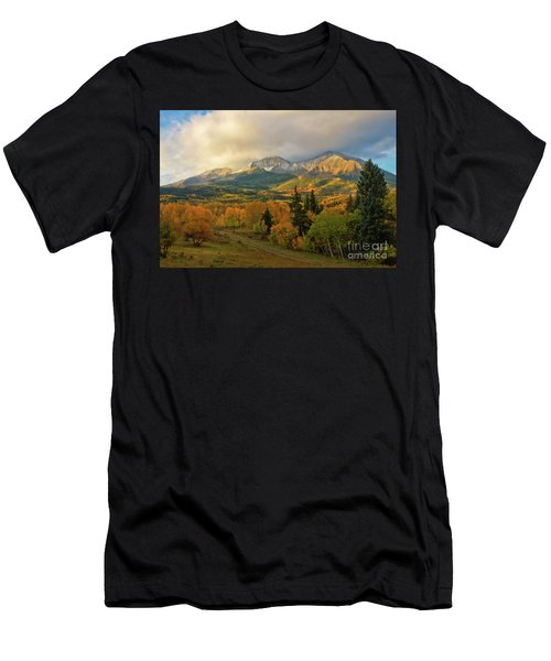 Fall On Mt Sopris  Men's T-Shirt (Athletic Fit)