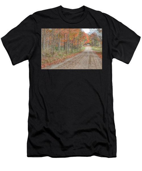 9018 - Fall On Murphy Lake Iv Men's T-Shirt (Athletic Fit)