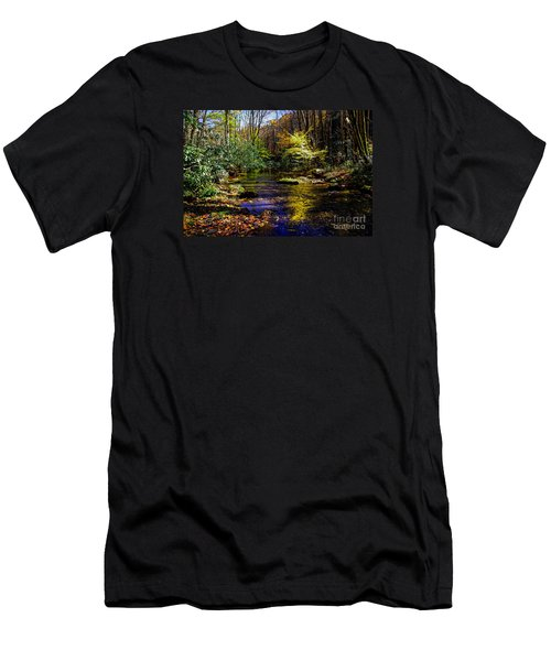 Fall On Rough Creek Men's T-Shirt (Athletic Fit)