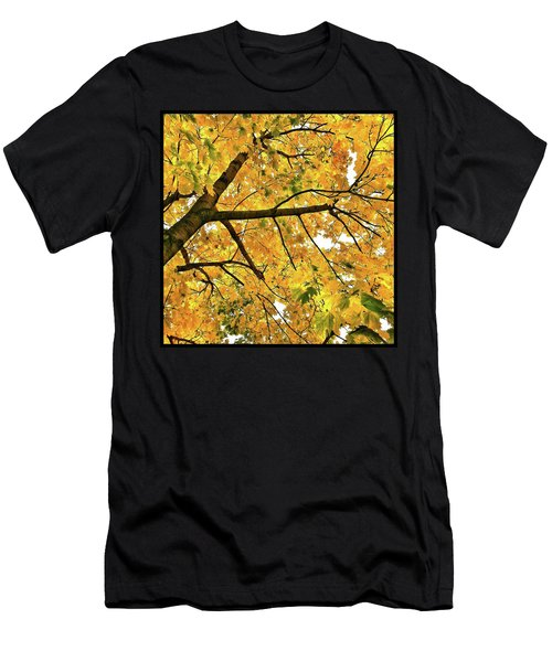 Fall On William Street Men's T-Shirt (Athletic Fit)