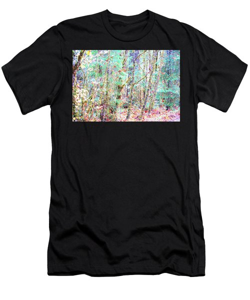Fall Oregon Forest Men's T-Shirt (Athletic Fit)