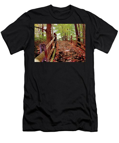 Fall Pathway Men's T-Shirt (Athletic Fit)