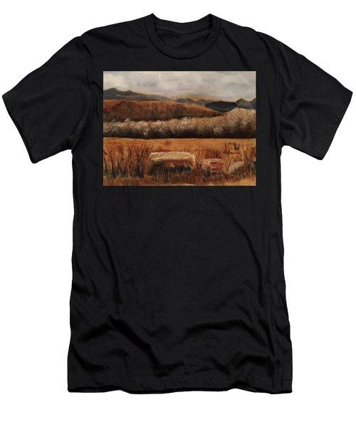 Fall Plains Men's T-Shirt (Athletic Fit)