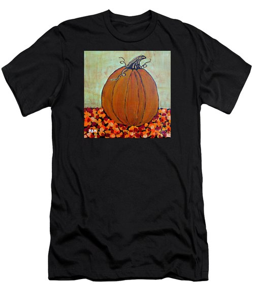 Fall Pumpkin Men's T-Shirt (Athletic Fit)