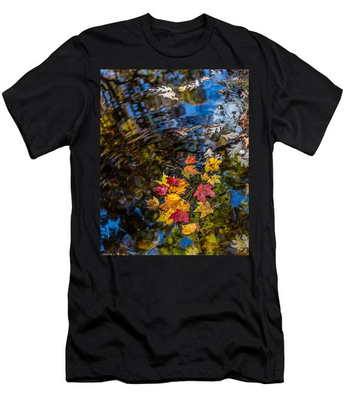 Fall Reflection - Pisgah National Forest Men's T-Shirt (Athletic Fit)
