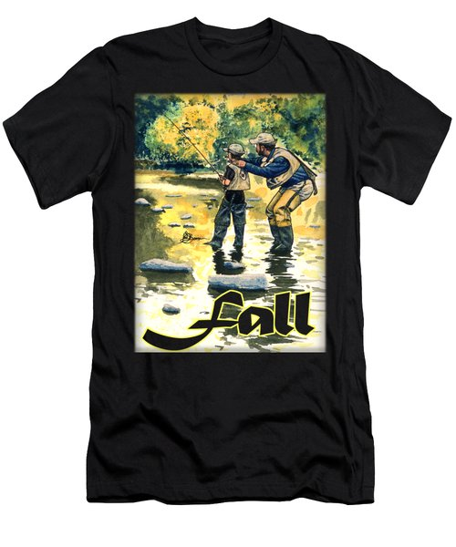 Fall Shirt Men's T-Shirt (Athletic Fit)