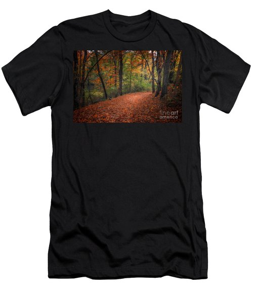 Fall Trail Men's T-Shirt (Athletic Fit)