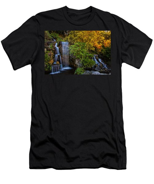Fall Water Fall Men's T-Shirt (Athletic Fit)