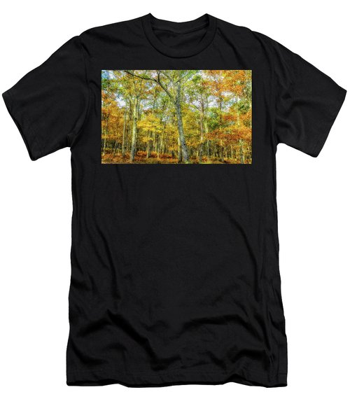 Fall Yellow Men's T-Shirt (Athletic Fit)