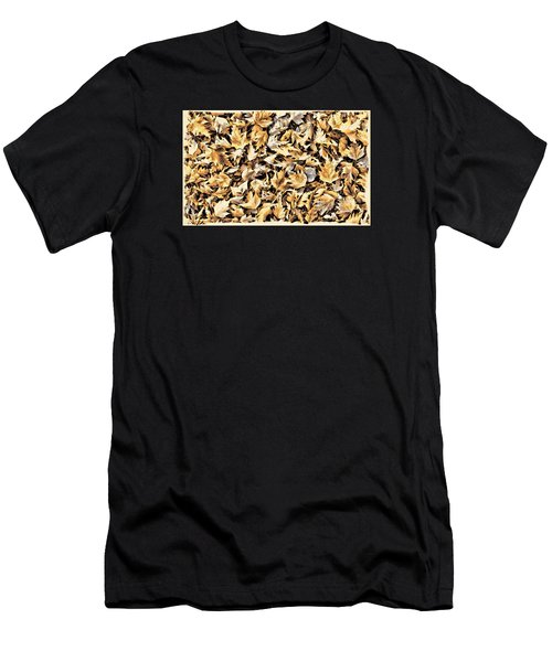 Fallen Autumn Leaves Men's T-Shirt (Athletic Fit)