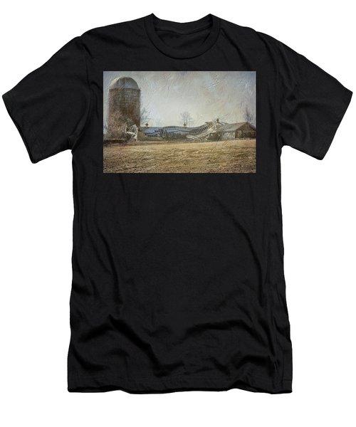 Fallen Barn  Men's T-Shirt (Athletic Fit)