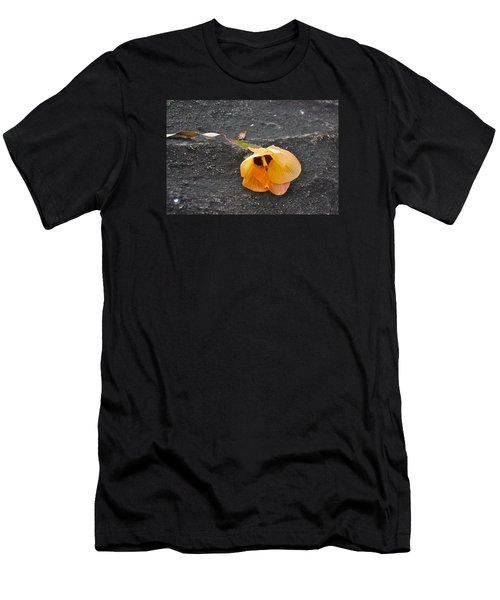 Fallen Flower Men's T-Shirt (Athletic Fit)