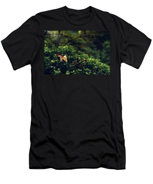 Men's T-Shirt (Athletic Fit) featuring the photograph The Fallen by Gene Garnace