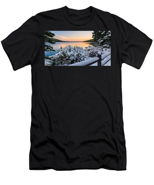 Fallen Leaf Lake Men's T-Shirt (Athletic Fit)