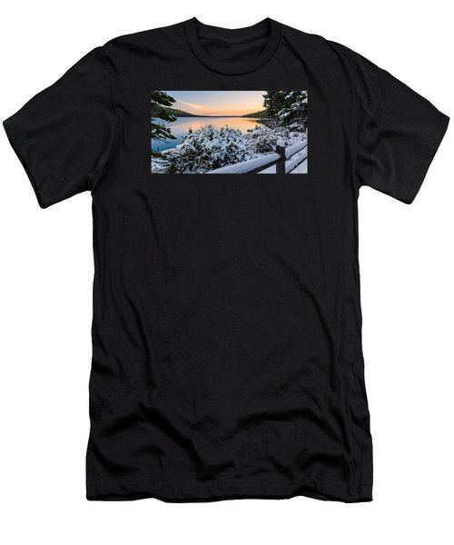 Fallen Leaf Lake Men's T-Shirt (Athletic Fit)