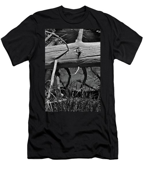 Men's T-Shirt (Athletic Fit) featuring the photograph Fallen Spruce by Ron Cline