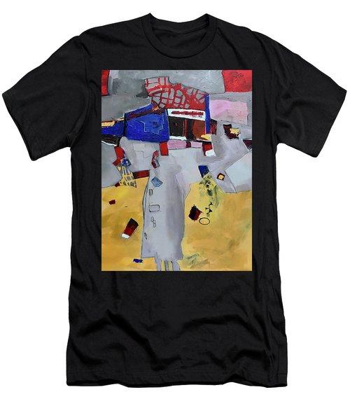 Falling City Men's T-Shirt (Athletic Fit)