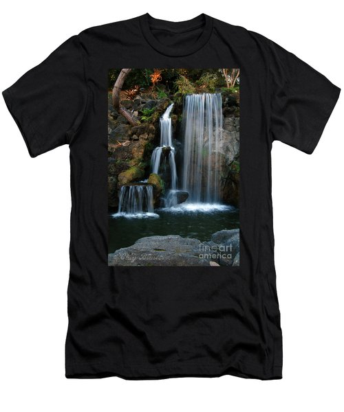 Falling For You Men's T-Shirt (Slim Fit) by Clayton Bruster