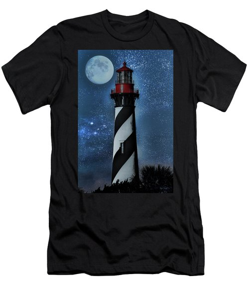 Falling For You St Augustine Lighthouse Men's T-Shirt (Athletic Fit)