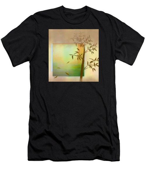 Falling Leaves Men's T-Shirt (Athletic Fit)