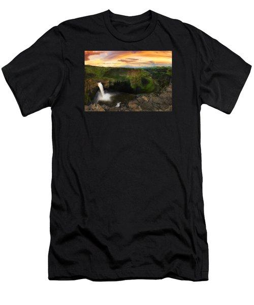 Falling Men's T-Shirt (Athletic Fit)