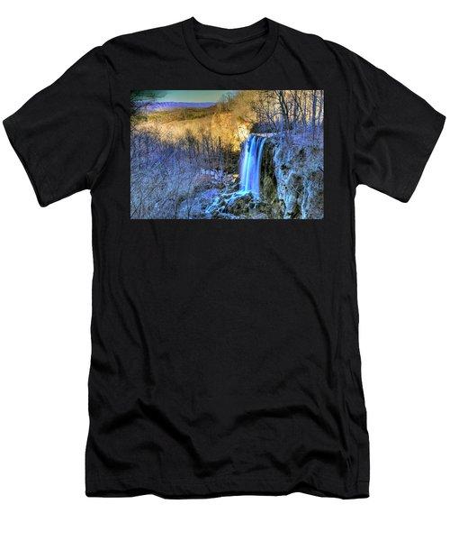 Falling Spring Falls Men's T-Shirt (Athletic Fit)