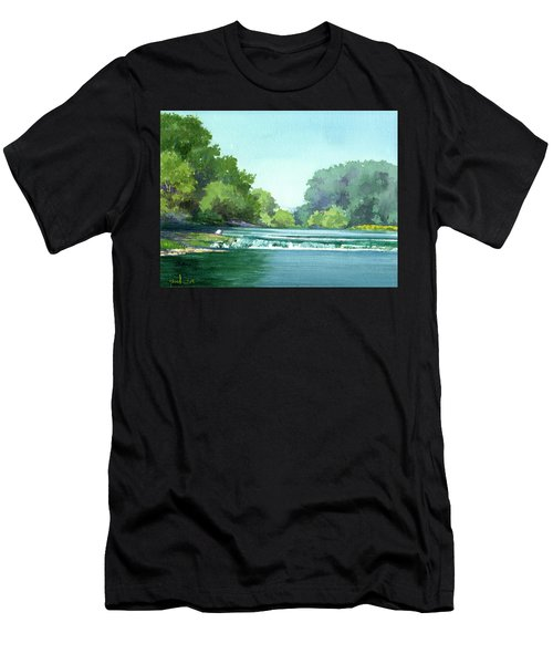 Falls At Estabrook Park Men's T-Shirt (Athletic Fit)