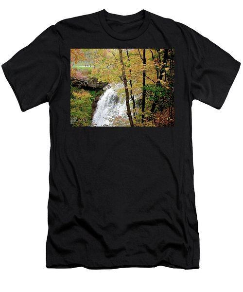 Falls In Autumn Men's T-Shirt (Athletic Fit)
