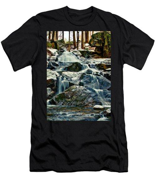 Falls Of Fogg Brook Men's T-Shirt (Athletic Fit)