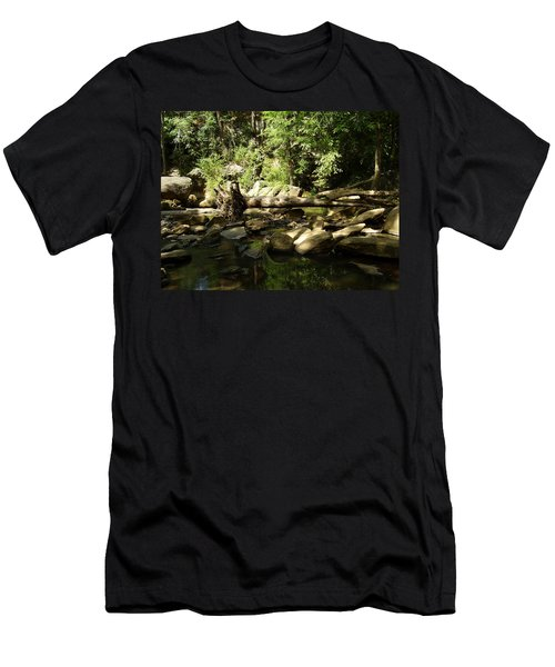 Falls Park Men's T-Shirt (Athletic Fit)