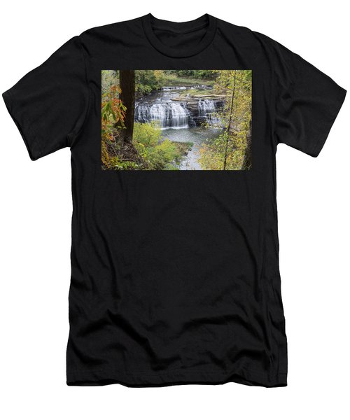 Falls Through The Trees Men's T-Shirt (Athletic Fit)