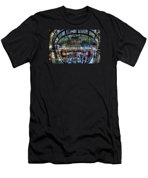Men's T-Shirt (Slim Fit) featuring the photograph Falls View by Jim Lepard