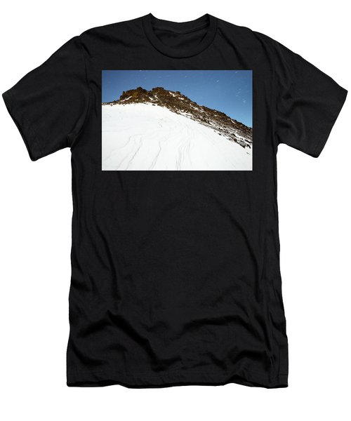 Men's T-Shirt (Athletic Fit) featuring the photograph False Omalley In Moonlight by Tim Newton