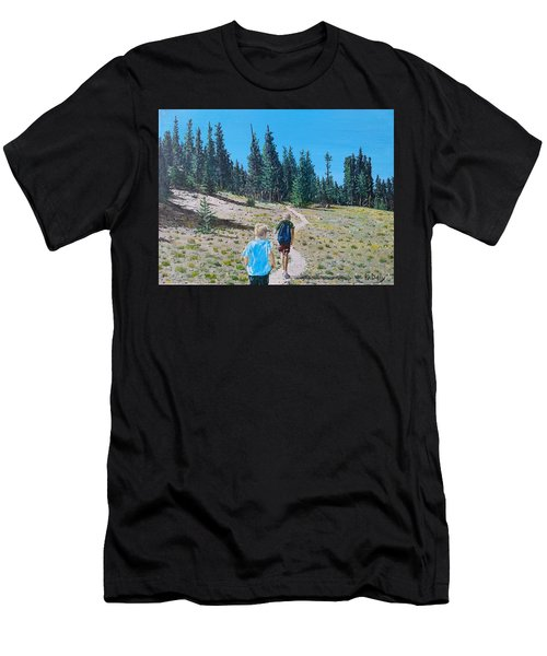 Family Hike Men's T-Shirt (Athletic Fit)