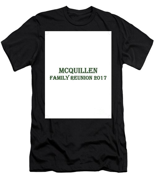 Family Reunion 2017 Men's T-Shirt (Slim Fit)