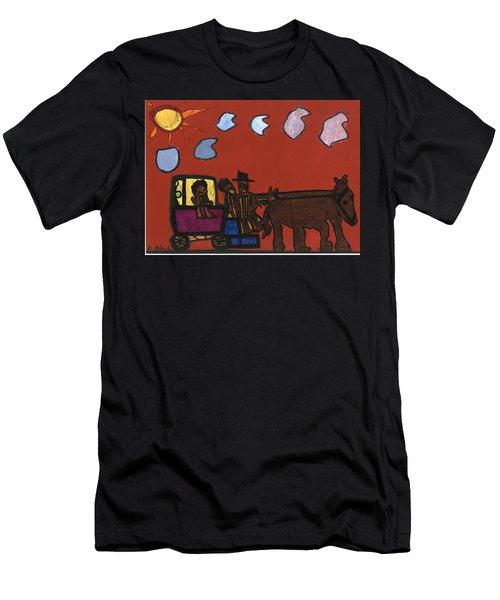 Family Transport Men's T-Shirt (Athletic Fit)