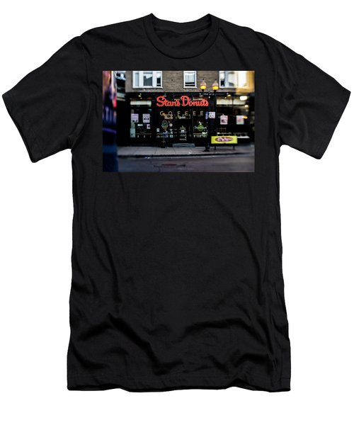 Famous Chicago Donut Shop Men's T-Shirt (Athletic Fit)