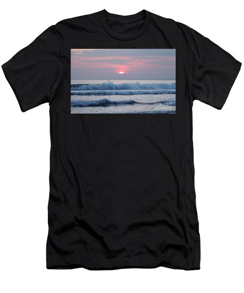 Fanore Sunset 1 Men's T-Shirt (Athletic Fit)