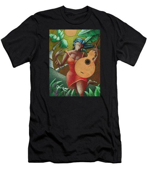 Fantasia Boricua Men's T-Shirt (Athletic Fit)