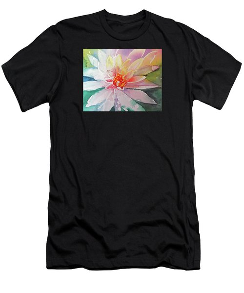 Fantasy Flower Men's T-Shirt (Athletic Fit)
